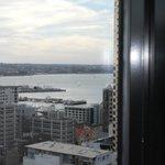 vue de la chambre sur la baie