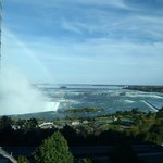 View of Horseshoe Falls from the room.