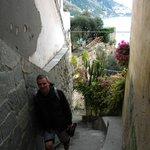 Escaleras a la Playa Fornillo (Spiaggia Fornillo)