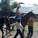 Supervised Horse back riding