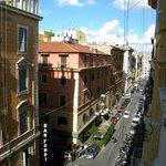 Vista desde la habitación al lado opuesto de Términi.