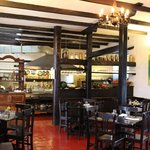 Dining room, El Albergue, Ollantaytambo, Peru
