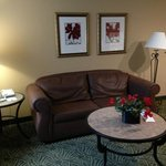 Living area at the Homewood Suites Seattle - Tacoma Airport