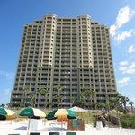 Grand Panama Beach Resort-view from the beach