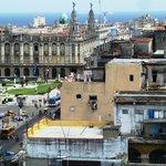 Pº Prado desde el Saratoga, edificio del Gran Teatro de La Habana García Lorca