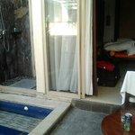la villa avec piscine du Best Western Kuta Villa