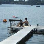 Kayak, canoe, swim and fish aat Lake Ripley Lodge