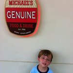 Michael's Genuine at Camana Bay is great for family meals and business meetings.