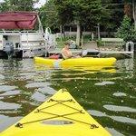 Boating at Lake Ripley Lodge3