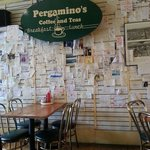 """Napkin """"Love"""" Walls...great place and the napkins show it!"""