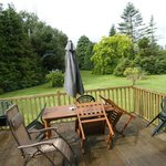 deck outside - fantastic place to relax
