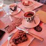 Coffee & desserts, Vespa Cafe