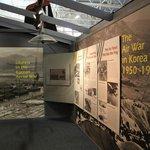 Indoor exhibit area at the Hill Aerospace Museum