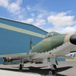 F-100 restored and on display at the Pueblo Weisbrod Aircraft Museum