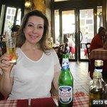 Cerveja italiana bem gelada!
