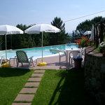 piscina esclusiva per gli ospiti