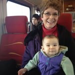 The Ruth Anne's favorite train ride!!!