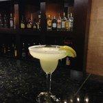 Margarita at the lobby bar