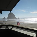 Haystack Rock from Surfsand Resort Room 10/2013