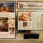 Review of LPdT's outstanding cuisine by the Taos News
