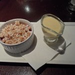 Fruit Crumble and Custard