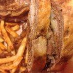 NY Reuben & Cajun fries