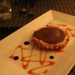 Chocolate peanut butter tart - delicious