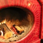 Unusual Oval Fire Place