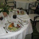 Déjeuner ( diner ) à l'orangerie de Chenonceau