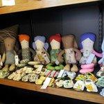 Handmade dolls and booties