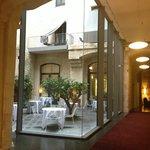 The Hotel Lobby - very inviting!
