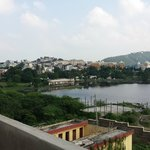 Part of almost 360 deg views from new Rooftop Terrace of Sargam Sadan Hotel, Udaipur