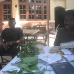 The herbal doctor that taught us about herbs on the island