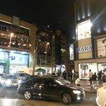 Lojas e bares no Centro