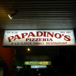 PapaDino's Pizzeria - very delicious Italian food in town!