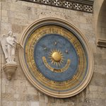 Astronomical clock in Messina