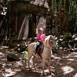 Horsebackriding at the Cabrits National Park