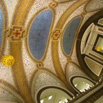 largest Tiffany ceiling in the world, in Marshall Fields former flagship store