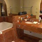 main bathroom off bedroom