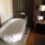 two room terrace bathtub