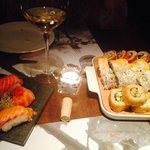 Sushi con Juli!