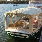 Why not cruise the Noosa River in style
