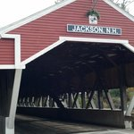 Jackson wooden covered bridge
