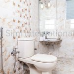 Bathrooms are sanitized & define beauty!