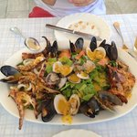 This seafood dish was the most amazing meal!!!