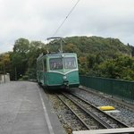 Train to the top of Drachenfels