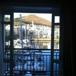 view from our suite overlooking the marina