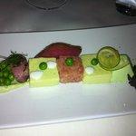 Entrée variation de saumon