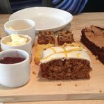 Afternoon tea - cakes and scones