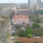 Vista de Luanda desde o 11º andar